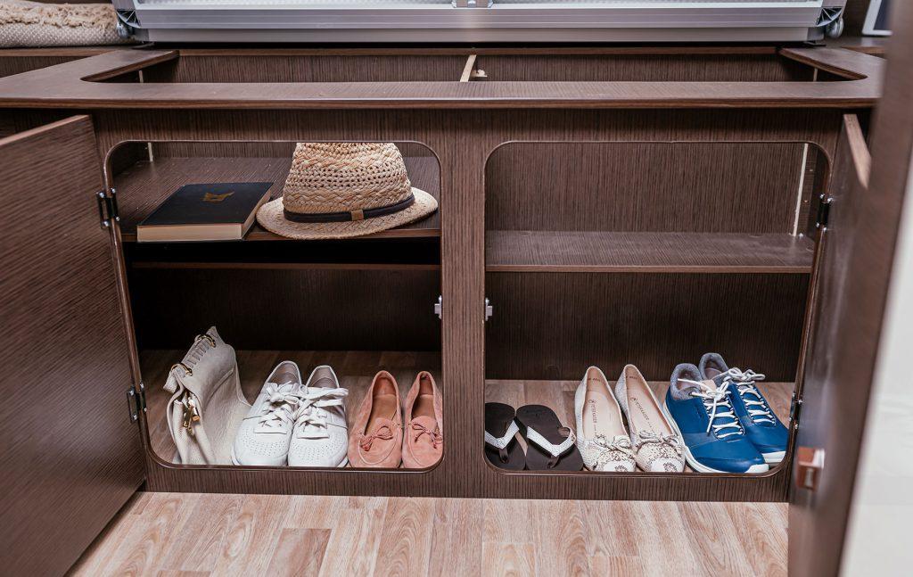 Stauraum für Schuhe und weiteres