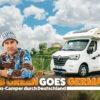 Ahorn Camp und BigFM kooperieren. Rob Green fährt mit einem Ahorn Alaska TQ durch Deutschland