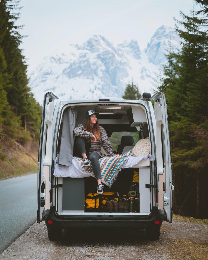 Bild vom Urlaub im Van